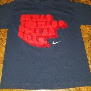 Nike dri fit athletic shirts
